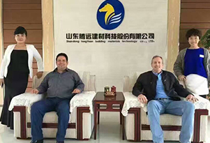 Paraguay Client Antonio Came to Tengyuan Group on Oct. 22th, 2017