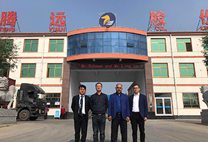 Bangladesh Clients Came to Our Factory to Inspect the Dredging Products on Oct. 23rd, 2017.
