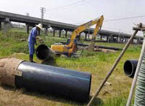 hdpe pipe for forestry, light industry