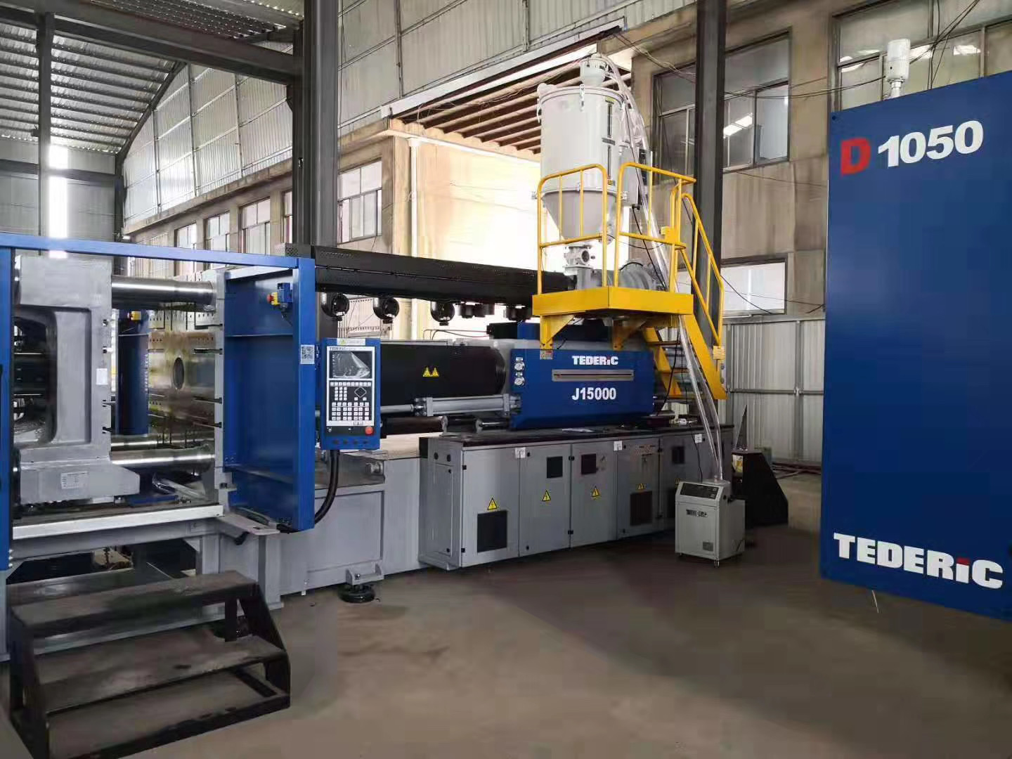 New introduced fitting production equipments have been arrived at TENGYUAN GROUP