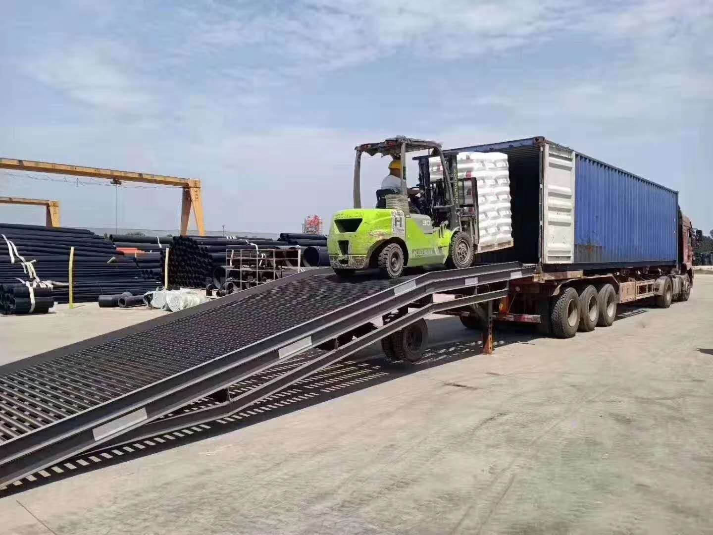 New HDPE Raw Materials Arrive