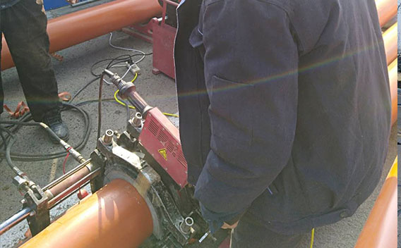Power Cables Protective Pipe Project