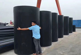 Four Major Uses Of Large Diameter HDPE Water Supply Pipe